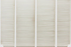 Air filter, white Stock Images