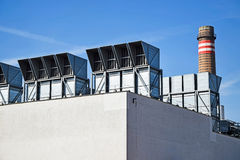 Air filters of the power station Stock Images