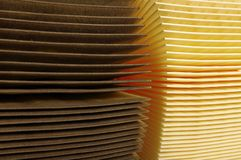 Air filters. Used and new royalty free stock images