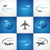 Air flight Royalty Free Stock Photos