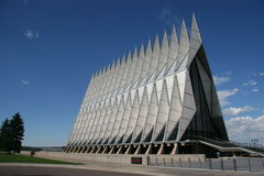 Air Force Academy Chapel Color Royalty Free Stock Images