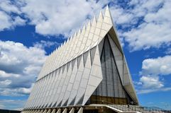 Air Force Academy Chapel royalty free stock photos