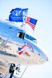 Air Force C-47: Bluebonnet Belle royalty free stock images