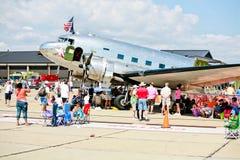 Air Force C-47: Bluebonnet Belle royalty free stock photos