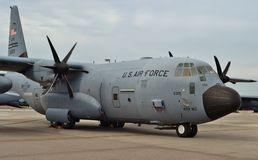 Air Force C-130J Hurricane Hunters Royalty Free Stock Photos