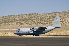 Air force cargo plane Stock Image