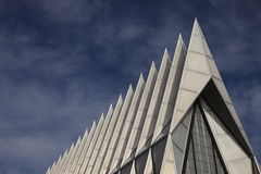 Air Force Chapel spires Stock Image