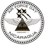Air Force Day Nicaragua Stock Photo