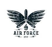 Air force emblem Stock Photos