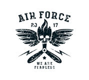 Air force emblem Stock Photography