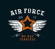 Air force emblem Stock Image