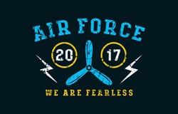 Air force emblem Stock Photography