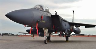 Air Force F-15E Strike Eagle Royalty Free Stock Images