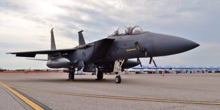 Air Force F-15E Strike Eagle royalty free stock photo