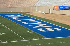 Air Force football field Stock Images