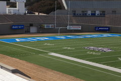Air Force football field Stock Photo