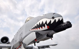 Air force gunship Stock Images