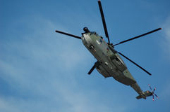 Air force helicopter Stock Images