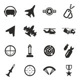 Air Force Icons Stock Photo