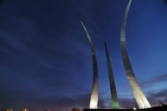 Air Force Memorial Stock Photography