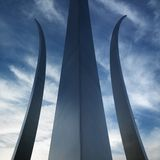 Air Force Memorial Stock Images