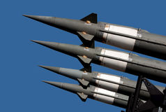 Air force missile-5 Stock Photos