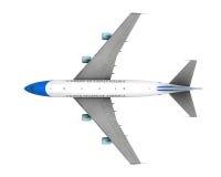 Air Force One изолировало Стоковые Изображения