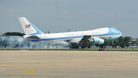 Air Force One Photographie stock