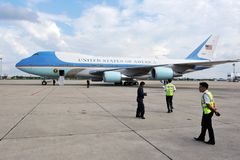 Air Force One Royalty Free Stock Images