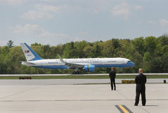 Air Force One Stock Foto's