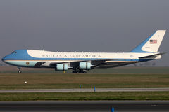 Air Force One Fotografie Stock Libere da Diritti