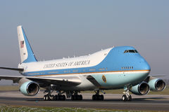 Air Force One Obrazy Stock