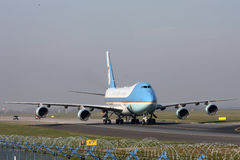 Air Force One Stock Afbeeldingen