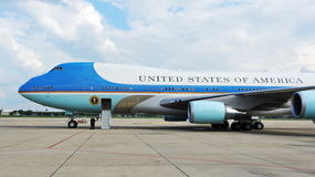 Air Force One Photo stock
