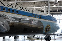 Air Force One Imagens de Stock