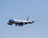 Air Force One Fotografia de Stock Royalty Free