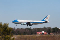 Air Force One Imagens de Stock Royalty Free