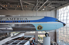 Air Force One Boeing 707. Ronald Reagan Presidential Memorials, Simi Valley, California, USA Stock Photography