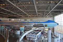 Air Force One Boeing 707 Royalty-vrije Stock Afbeelding