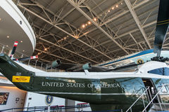 Air Force One e Marine One em Ronald Reagan Presidential Library, Simi Valley, Califórnia Foto de Stock