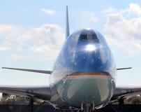 Air Force One flairent chez JFK New York City international, New York Image stock