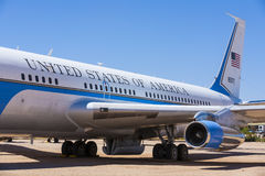 Air force one in Pima Air and Space museum Stock Photos