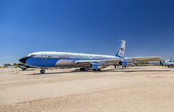 Air force one in Pima Air and Space museum Stock Photography