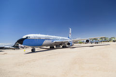 Air force one in Pima Air and Space museum Stock Image