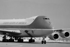 Air Force One. Stock Photography