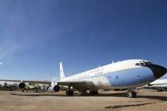 Air Force One usou-se por Johnson e por Kennedy Foto de Stock Royalty Free