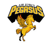Air Force Pegasus Team Stock Image