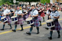 Air Force Pipe Band Royalty Free Stock Image