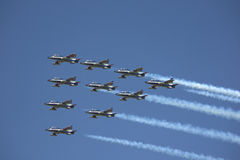 Air force planes Royalty Free Stock Photography