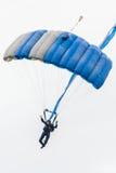 Air force sky diver parachute Stock Photos